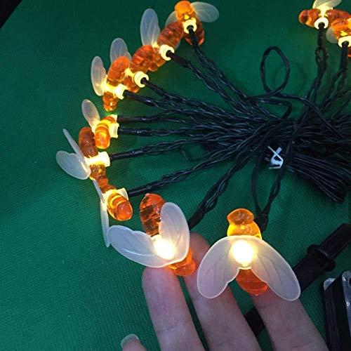 Cadena de luces de hadas para interior al aire libre llevada luces de hadas con remoto al aire libre luces de Navidad con cable de cadena de luz de Navidad