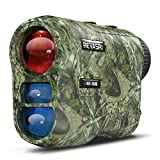 REVASRI Hunting Laser Rangefinder with Rechargeable Battery 1000 Yards Hunting Range Finder with Target Acquisition Technology Easy-to-Use Clear Accurate Rangefinders for Hunters (1000Y)