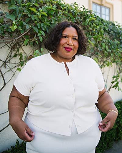 The Drop Women's Whisper White Button-Down Knit Cardigan by @itsmekellieb