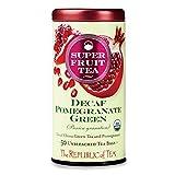 The Republic of Tea, Pomegranate Green Tea Decaf, 50 Count