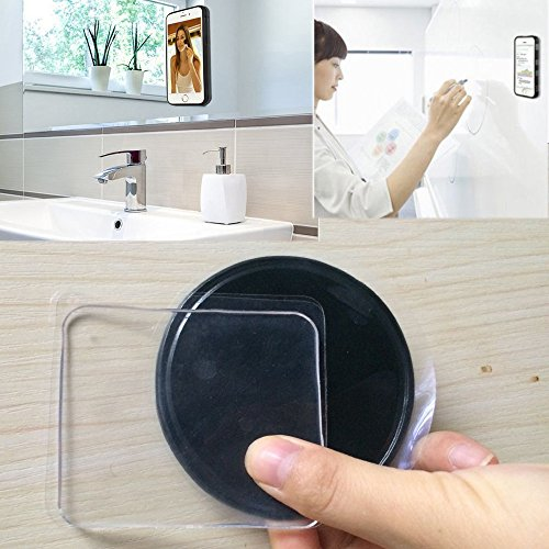 12Pcs Removable Sticky Cell Pads Gel Pads Double Side Cell Phone Pads -