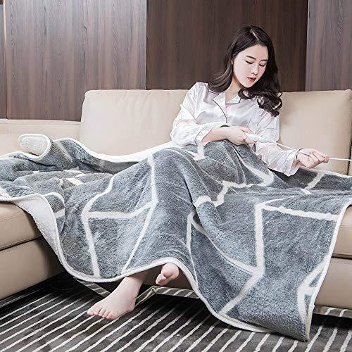 SMGPYCFYP Elektrische deken, warme deken, kantoorverwarming, been, voor verwarming, kleine elektrische matras, verwarmingskussen, verwarmingsklasse