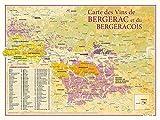 CARTE DES VINS DE BERGERAC ET DU BERGERACOIS