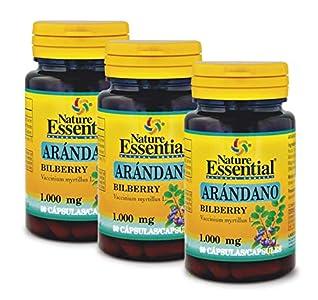 Arándano 1000 mg. 50 cápsulas (Pack 3 unid.)