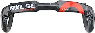 RXL SL Manillar de Carretera Ultraligero Bicicleta Carretera Carbono Manillar 400/420/440mm Drop Bar 31.8mm Manillar de Viento