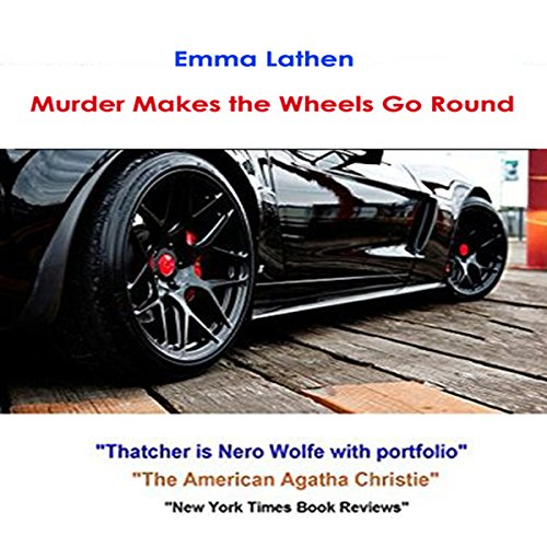 Murder Makes the Wheels Go Round audiobook cover art
