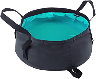 Lifeunion Ultra Lightweight Portable Outdoor Folding Wash Footbath Basin Water Bag Wash Bucket for Camping Traveling