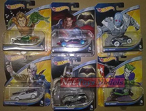 Hot Wheels Veicoli Batman Vehicles Complete Collection Pz.6 1 64 DIE CAST Model kompatibel mit
