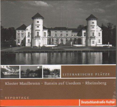 Literarische Plätze - Hermann Hesse - Kloster Maulbronn (Unterm Rad) - Hans Werner Richter - Bansin auf Usedom (Spuren im Sand) - Tucholsky - Rheinsberg (Literarische Plätze)