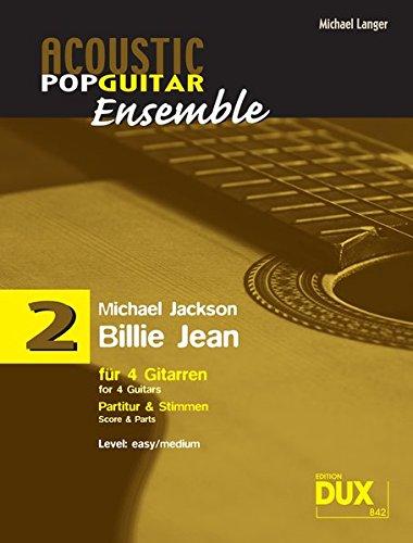 Billie Jean: für 4 Gitarren