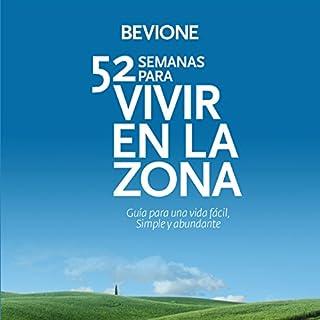 52 Semanas para Vivir en La Zona [52 Weeks to Live in The Zone] audiobook cover art