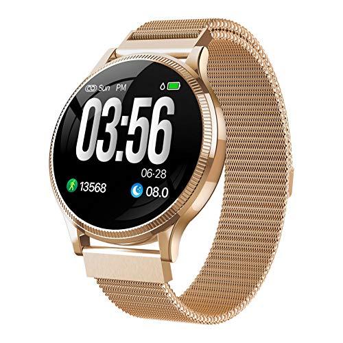 ZLOPV Fitness Armband Fitness Tracker Smart Watch IP67 Wasserdicht Blutdruck Smartwatch Pulsmesser Sportuhr Herren Smartwatch