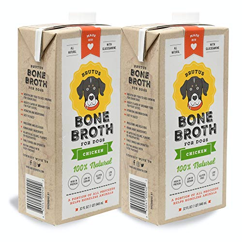 Brutus Dog Bone Broth for All Breeds