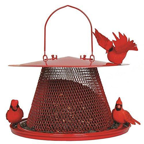 No/No Red Cardinal Bird Feeder C00322 (3 Pack)