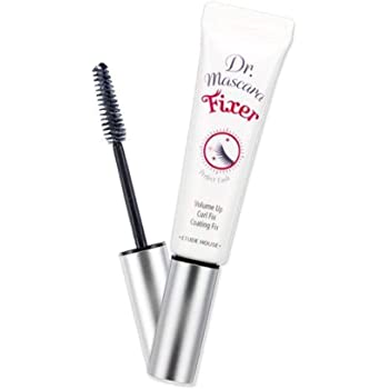 ETUDE HOUSE Dr. Mascara Fixer For Perfect Lash 01 (#Natural) | Long-Lasting Smudge-Proof Mascara Fixer with Care Effect | Korean Makeup