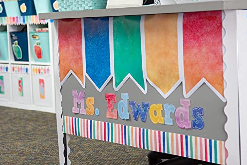 """Watercolor Bold Block 4"""" Letters Combo Pack Photo #6"""