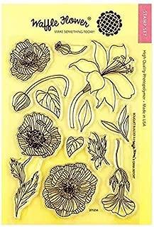 Waffle Flower Clear Stamp Set - Bouquet Builder 4