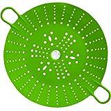 Cross 27446 Panier Vapeur SleekStor Vert, Silicone, 29,4 x 21,5 x 3 cm