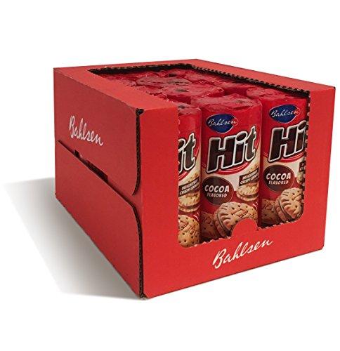Bahlsen Hit Chocolate Filled Sandwich Cookies (12 pack) - Crisp golden...