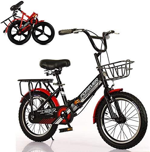 Bck 20 Pulgadas Pulgadas Chico Ciclista de la Bicicleta con la Cesta...
