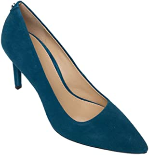 Michael Michael Kors Womens Dorothy Fabric Pointed Toe Classic, Teal, Size 6.0
