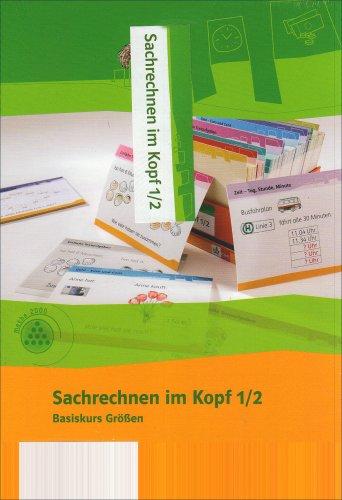 Sachrechnen im Kopf 1-2: Kartei Klasse 1/2 (Programm Mathe 2000+)