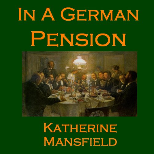 In a German Pension audiobook cover art