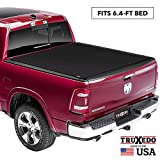 TruXedo Sentry CT Hard Rolling Truck Bed Tonneau Cover | 1546916 | fits 09-18, 19-20 Classic Ram 1500, 2500, 3500 6'4' bed