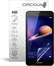 Celicious Vivid Invisible Glossy HD Screen Protector Film Compatible with Huawei Honor Holly 3 [Pack of 2]
