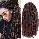 Lihui Marley Braiding Hair Long Marley Twist Braiding Hair Soft Marley Hair For Twists 3 Packs Marley Braids Marley Twist Crochet Hair For Black Women(20'-3packs, 1B/30)
