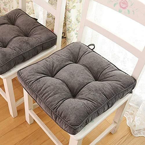 TYHZ Coussin de Chaise Carré côtelé futon Tatami Tatami Tapis rempli Coussin de Coussin de méditation de Yoga, Coussin de siège Confort matelonné Galette de Chaise