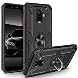 Vunake Case for Galaxy A6 2018 Case Dual Layer Silicone TPU