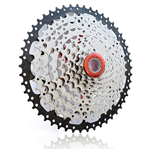 9 Velocidad de La Bici De Casete, 11-50t Amplia RelacióN de Bicicleta de MontañA En Rueda Libre PiñóN, Reemplazo de Accesorios de Bicicletas, Ajuste para Sram, Shimano, Bicicleta de MontañA, BMX