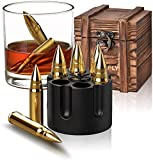 Gifts for Men Dad, Christmas Stocking Stuffers, Whiskey Stones, Unique Fathers Day Gifts, Birthday Ideas for Him Boyfriend Husband Grandpa, Cool Gadgets Presents