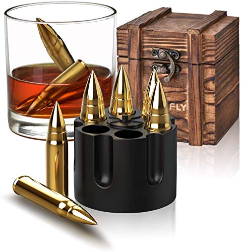 Gifts for Men Dad, Christmas Stocking Stuffers, Whiskey Stones, Unique Anniversary Birthday Gift Ideas for Him Boyfriend Husband Grandpa, Cool Gadgets Retirement Presents