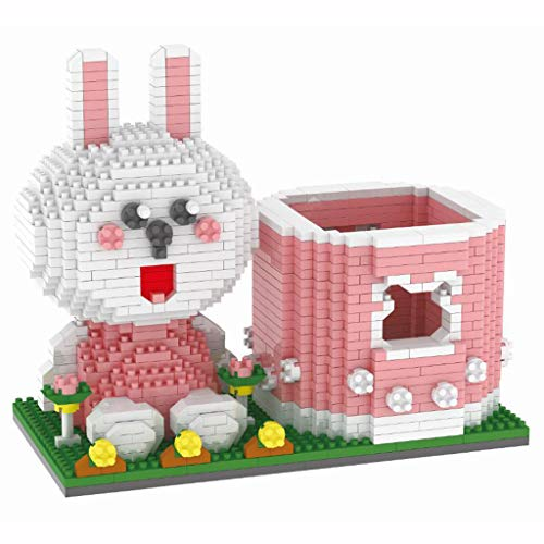 Nano Building Blocks, Diy Assembled Nano Brick Model Pen Holder Building Block Toys 3d Puzzle Educational Stacking Game For Adults And Children Interactive Toys