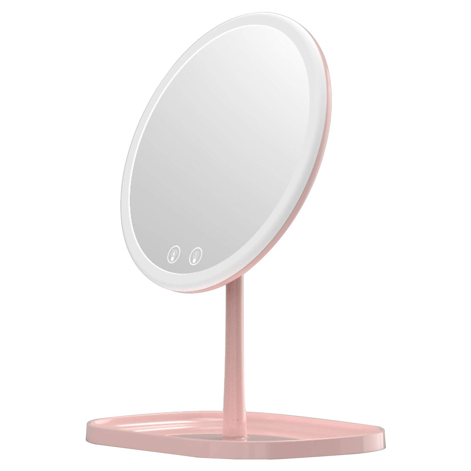 Makeup New York Mall Mirror Mouyor Rechargeable with [Alternative dealer] LED Lighted