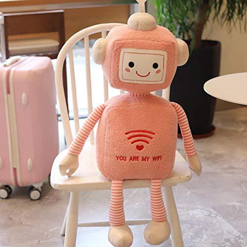 BOIPEEI 1 Pza 50Cm Kawaii Divertido Robot WiFi muñeca de Pe