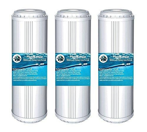 Planet-Aqua 4 x Wasser ENTHÄRTUNG ANTIKALK KARTUSCHE 10 Zoll Filter Patrone für Wasserfilter als Kalkfilter Vorfilter Wasser Brunnenwasser Osmose Regenwasser