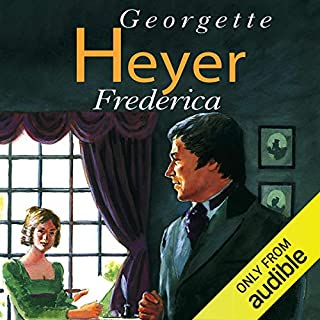 Frederica audiobook cover art