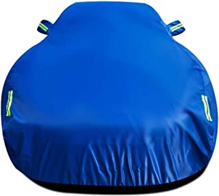 Car cover Compatible With Ford Focus Hatchback All Weather Protection Auto Protector Waterproof Full Exterior Covers UV Protection Automobiles Car Outdoor Shelters Sunscreen Heat Protection Blue Car C