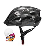 ioutdoor Bike Helmet 56-64CM with Visor,Sport Headwear,18 Vents,Cycling Bicycle Helmets Adjustable Lightweight Adults
