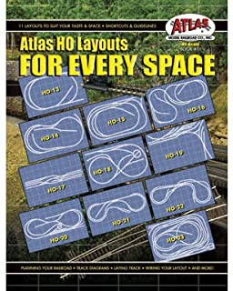 HO Layouts For Every Space by Atlas Model Railroad