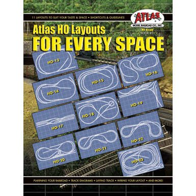 Price comparison product image HO Layouts For Every Space by Atlas Model Railroad