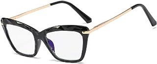 Leesbril met blauw licht, ultralichte leesbril voor dames, lentebeugel + glazen van kunsthars, meerdere kleuren.