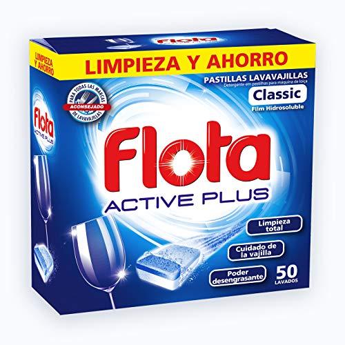 Flota Detergente Pastilla para Lavavajillas - 50 uds