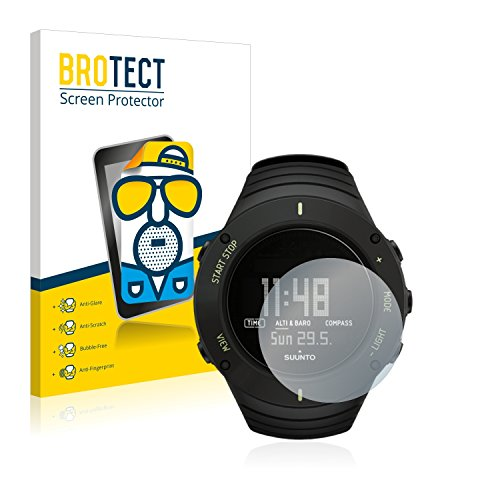 BROTECT Protector Pantalla Anti-Reflejos Compatible con Suunto Core Ultimate Black (2 Unidades) Pelicula Mate Anti-Huellas