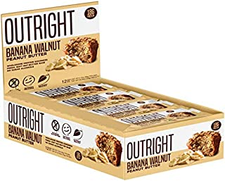 Outright Bar - Whole Food Protein Bar - 12 Pack - MTS Nutrition (Banana Walnut Peanut Butter)