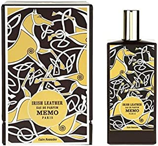Irish Leather by Memo for Unisex - Eau de Parfum, 75 ml