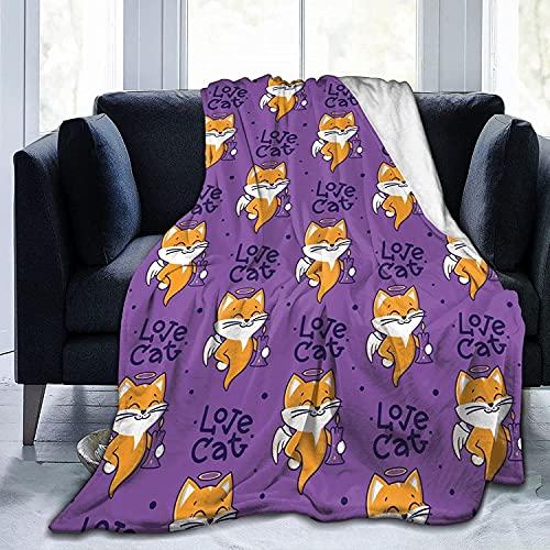 Manta de forro polar de franela para bebé, niños, hombres, mujeres, suaves y cálidas, tamaño Queen y mantas para sofá, cama, sofá de viaje